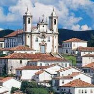 The World Heritage site of Ouro Preto in Minas Gerais - Brazil