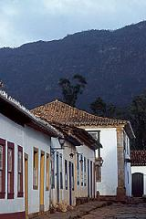 The beautiful baroque village of Tiradentes, the State of Minas Gerais in Brazil